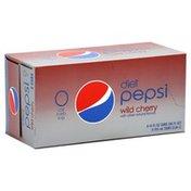 Pepsi Cola, Wild Cherry, Diet