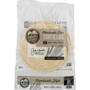 La Tortilla Factory Handmade Style Tortillas White Corn & Wheat - 8 CT