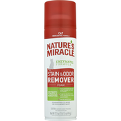 Nature's Miracle Stain & Odor Remover, Foam, Cat