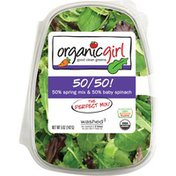 organicgirl 50/50 Spring Mix & Baby Spinach