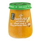 Beech-Nut Stage 3 Just Carrot, Sweet Corn & Garbanzo Bean