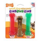 Nylabone Value Pack Small Holiday Dog Toy