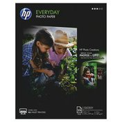 HP Paper, Everyday Photo, Glossy, 53 lb