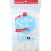 Harris Teeter Cotton Balls, Hypoallergenic, Jumbo