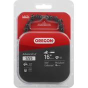 Oregon Saw Chain, S55, 16 Inches