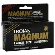 Trojan Condoms, Large Size