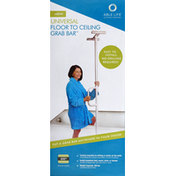 Able Life Grab Bar, Floor to Ceiling, Universal
