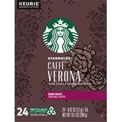 Starbucks Dark Roast Coffee K-Cup Pods