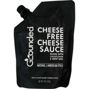 Grounded Cheese Sauce, Cheese Free, American Style