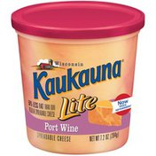 Bel Kaukauna Lite Port Wine  Spreadable Cheese