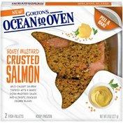 Gorton's Mustard Crusted Salmon