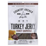 Country Archer Turkey Jerky, Honey Chipotle