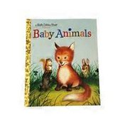 Random House Baby Animals Little Golden Book Hardcover
