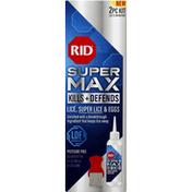 Rid Lice Elimination, Kill + Defends, Super Max