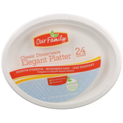 Our Family Classic Dinnerware Elegant Platter