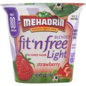 MEHADRIN fit 'n free Light Blended Yogurt Strawberry