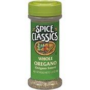 Spice Classics Whole Oregano