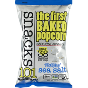 Snacks101 The First Baked Popcorn Purely Sea Salt