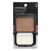 CoverGirl Outlast All-Day Ultimate Finish 3-in-1 Foundation Makeup Ivory, Female Cosmetics