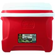 Igloo Cooler, Red, Contour, 30 Quart