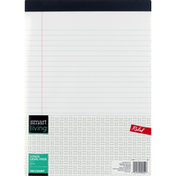 Smart Living Legal Pads, White, Ruled, 3 Pack