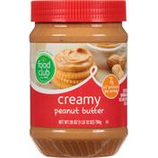 Food Club Peanut Butter, Creamy