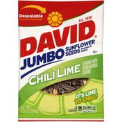 DAVID Seeds Jumbo Chili Lime Sunflower Seeds