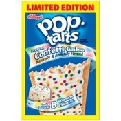 Kellogg's Pop-Tarts Frosted Confetti Cake Limited Edition Toaster Pastries