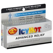 Icy Hot Pain Relief Cream, Advanced Relief