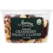 Aurora Cranberry Walnut Cluster, Organic