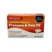 Best Choice Maximum Strength Pressure & Pain Pe
