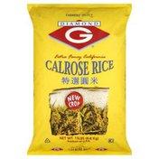 Diamond G Calrose Rice, Extra Fancy California
