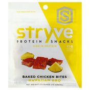 Stryve Chicken Bites, Hawaiian BBQ, Baked