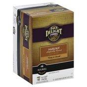 Java Delight Coffee, Light Roast, Hazelnut, K-Cup Packs