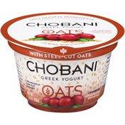 Chobani Oats Cranberry Blended Low-Fat Greek Yogurt