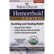 Forces of Nature Hemorrhoid Control, Super Concentrated
