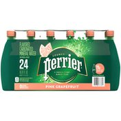 PERRIER Pink Grapefruit Flavored Carbonated Mineral Water