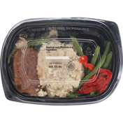 Safeway Meatloaf with Potatoes and Vegetables