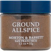 Morton & Bassett Spices Allspice, Ground