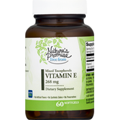 Nature's Promise Free From Vitamin E 400 IU With Mixed