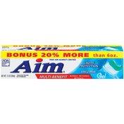 AIM Anticavity Fluoride Gel Toothpaste, Ultra Mint