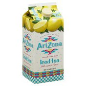 Arizona Iced Tea, with Lemon Flavor