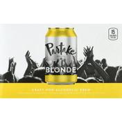 Partake Brewing Beer, Blonde