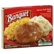 Banquet Savory Pork Patty Meal