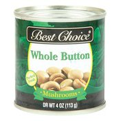 Best Choice Whole Button Mushrooms