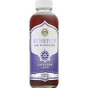 GTS Living Foods Raw Kombucha, Lavender Love