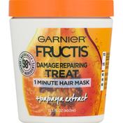 Garnier Hair Mask, 1 Minute, Treat, Damage Repairing, Papaya Extract