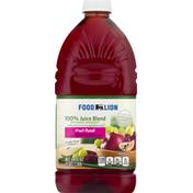 Food Lion 100% Juice Blend, Fruit Punch