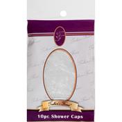 Toshicas Finest Shower Caps, 10 Piece
