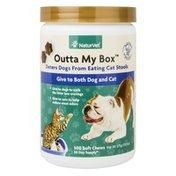 NaturVet Outta My Box Cat Litter Box Deterrent for Dogs
